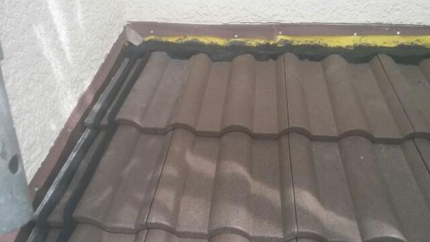 屋根リフォーム工事下屋根箇所作業1430742325072