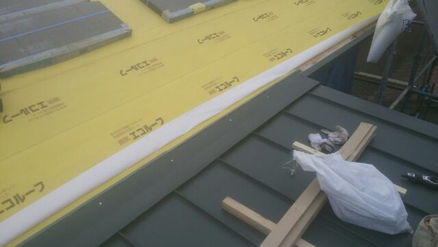 屋根リフォーム工事作業風景1431002285670