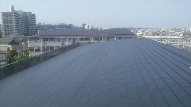 屋根リフォーム工事完了マンション1432211899604
