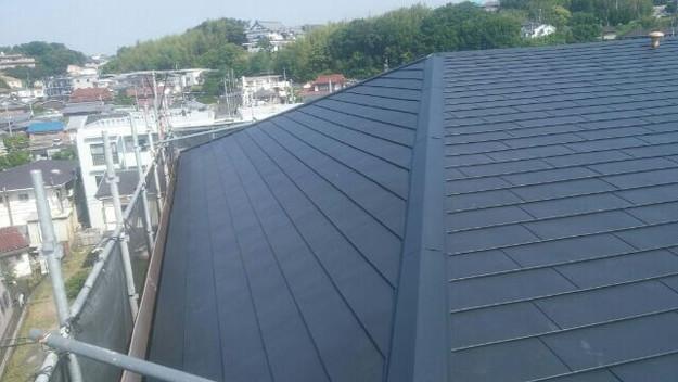 屋根リフォーム工事完了マンション1432211905237