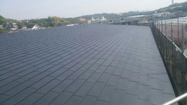 屋根リフォーム工事完了マンション1432211906991
