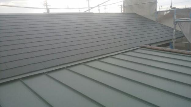 屋根リフォーム工事完了1431002158229