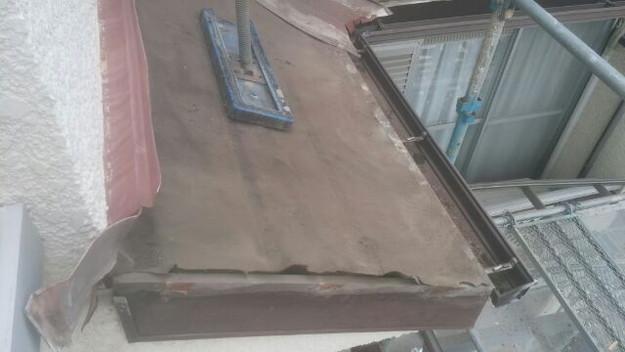 屋根リフォーム工事屋根補強作業1430742619504