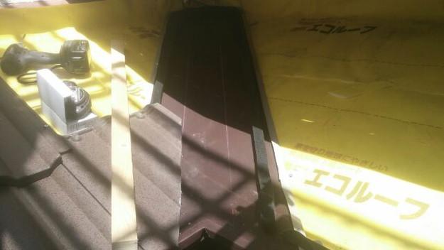 屋根リフォーム工事板金箇所作業1430742392038