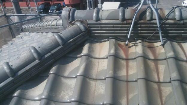 屋根修理前1433248132660