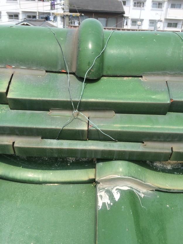 屋根修理工事前写真1429233471911
