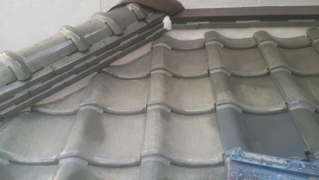 屋根修理漆喰工事完了1433247264568