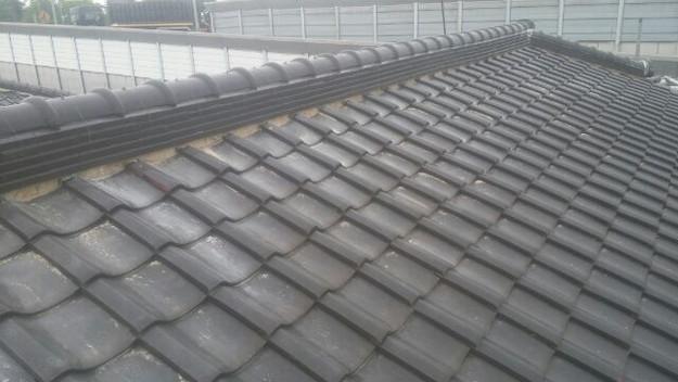 屋根漆喰工事施工前1433678806847