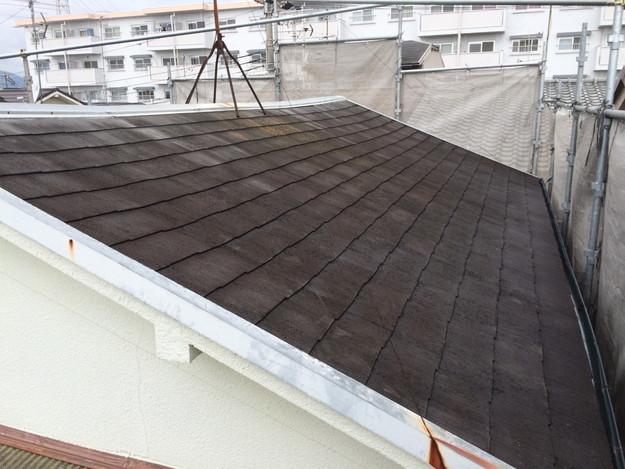 工事前の屋根の状態カラーベスト屋根
