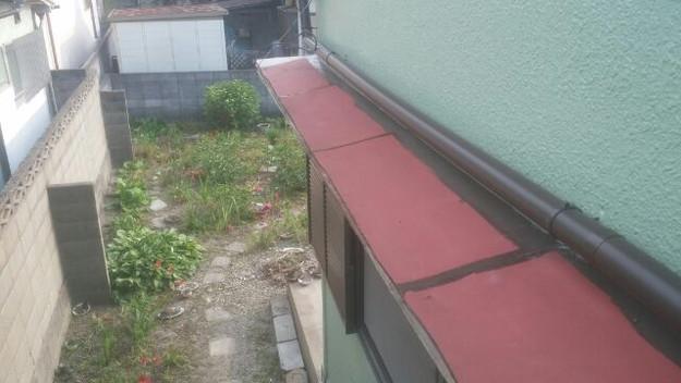 庇(ひさし)屋根修理前1433678346071