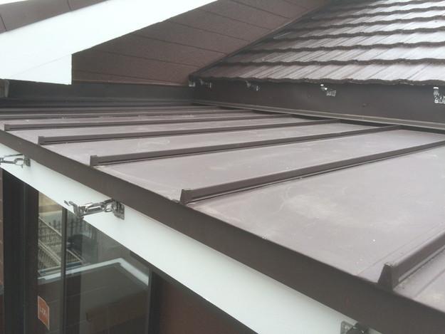 改築部屋根ガルバリウム製立平葺き工事1432470181424