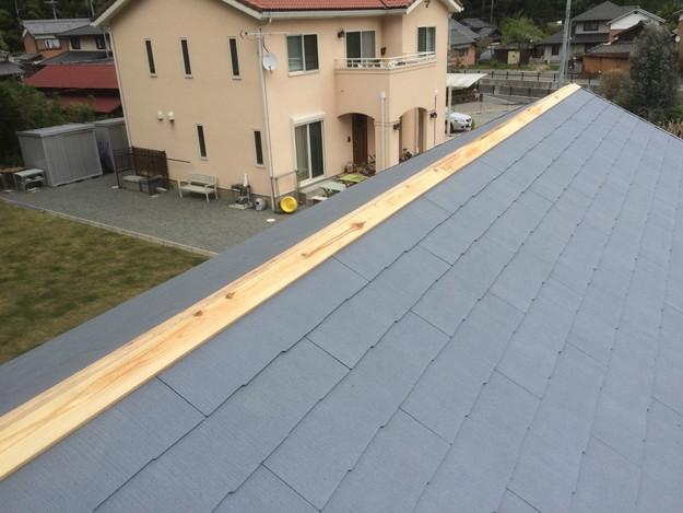 新築カラーベスト屋根工事1430732587447