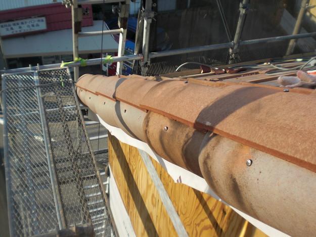 新築屋根工事洋瓦スペイン瓦CIMG1308