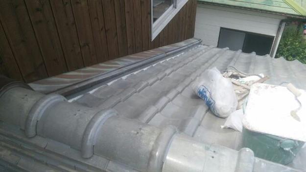雨漏り修理中1433247140610