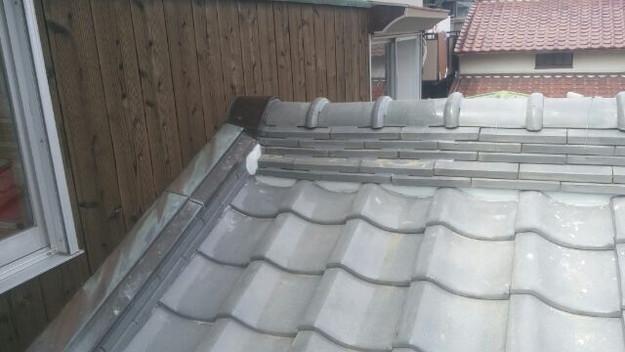 雨漏り修理中1433247153328