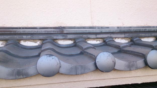 雨漏り修理前の写真DSC_0593