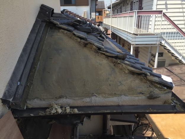 雨漏り修理工事中写真1432895577929