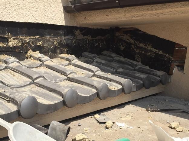 雨漏り修理工事中写真1432895590207
