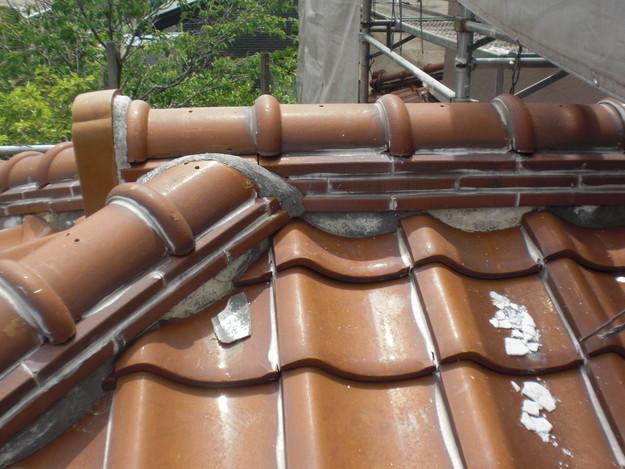 雨漏り対策工事施工前CIMG1320