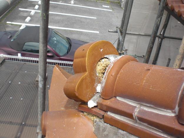 雨漏り対策工事施工前CIMG1322