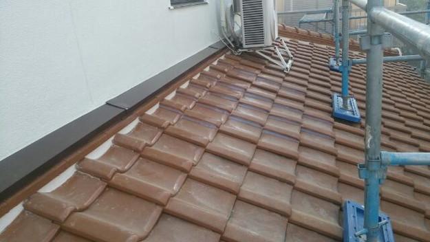 雨漏り対策工事漆喰交換1430654230507