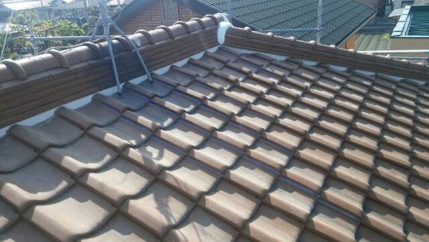 雨漏り対策工事漆喰交換1430654451082