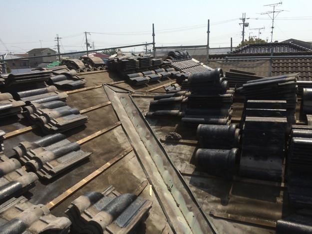 雨漏り対策谷板金交換工事1427973203201