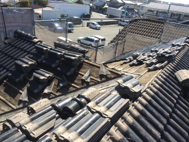 雨漏り対策谷板金交換工事1427973213864