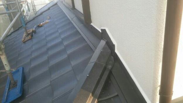 リフォーム完成壁際屋根1430704717921