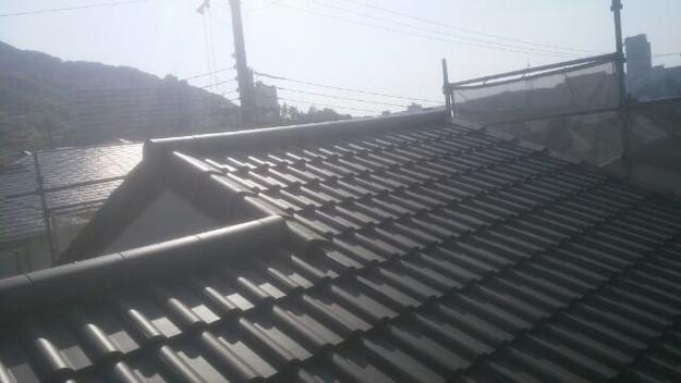 リフォーム工事後の屋根1430742233044
