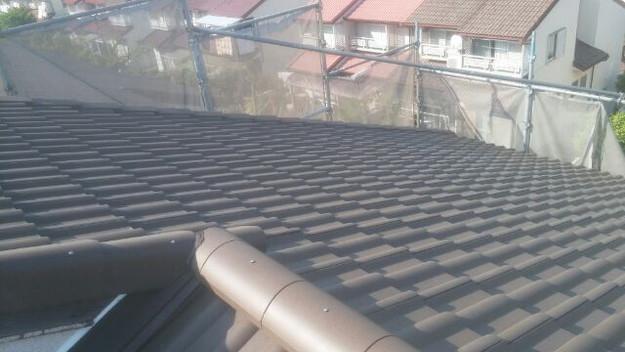 リフォーム工事後の屋根1430742276365