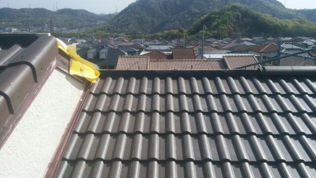 リフォーム工事後の屋根1430742423110