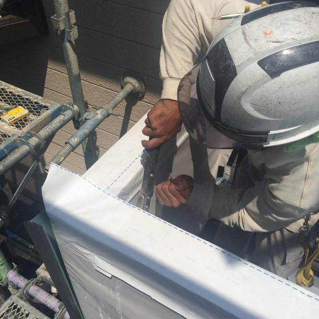 外壁サイディング工事中1431515565975