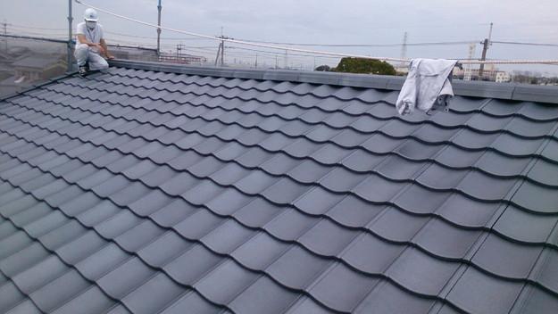 屋根リフォーム完成1430704585647
