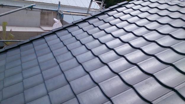 屋根リフォーム完成1430704648844