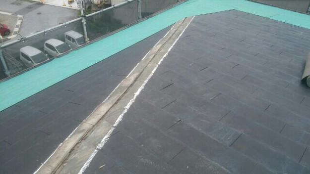 屋根リフォーム工事カバー工法下地材敷設1432211846132