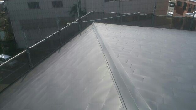 屋根リフォーム工事完了マンション1432211895318