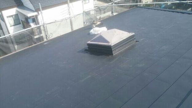 屋根リフォーム工事完了マンション1432211897693