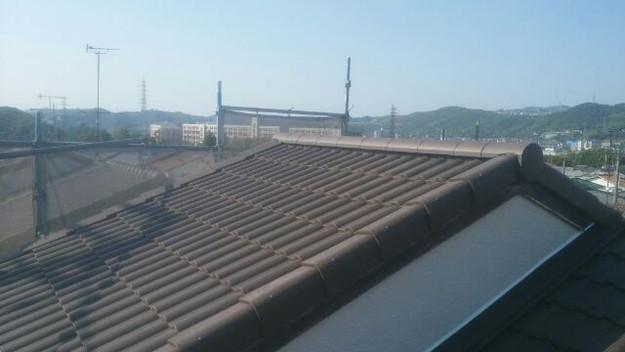 屋根リフォーム工事完了写真1430742284149