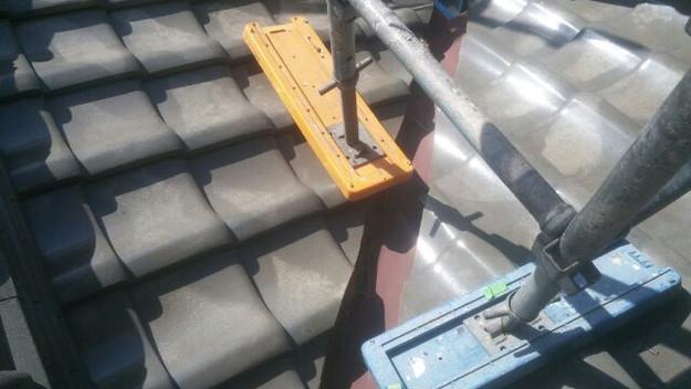 屋根修理の様子1433248018475