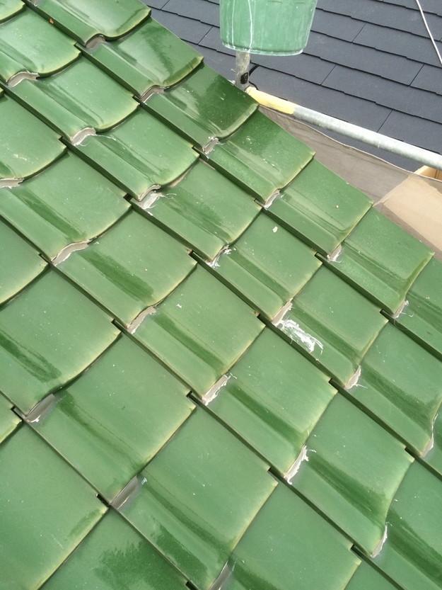 屋根修理工事前写真1429233469289