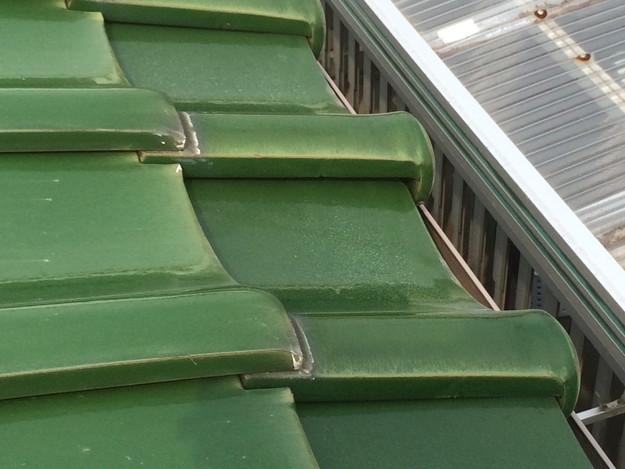 屋根修理工事前写真1429233479104