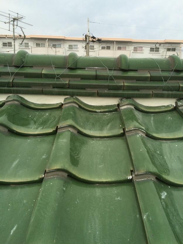 屋根修理棟漆喰工事完了後写真1429233487380