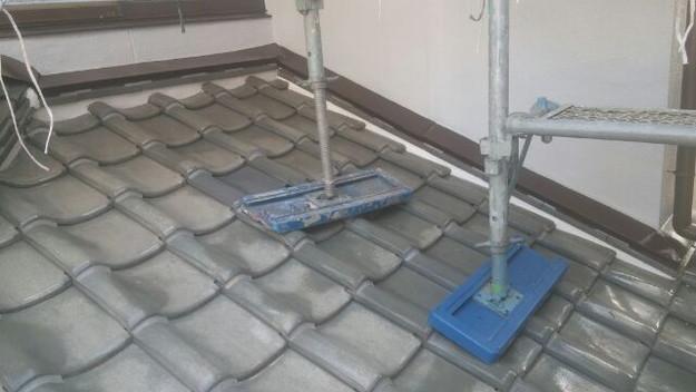 屋根修理漆喰工事完了1433247332275