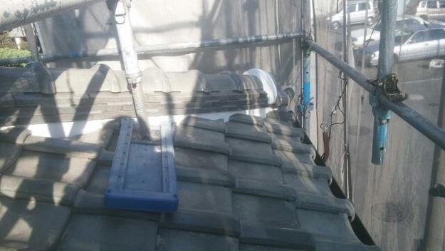 屋根修理漆喰工事完了1433247355760