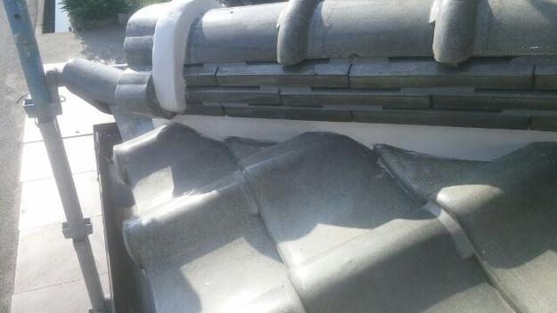 屋根修理漆喰工事完了1433247402107