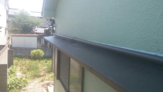 庇(ひさし)屋根修理1433678289508