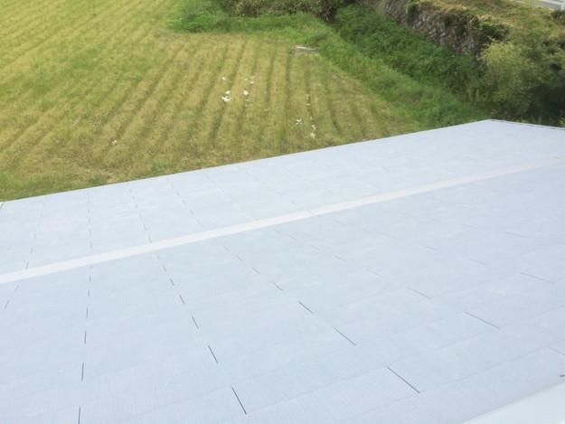 新築カラーベスト屋根工事1430732576681