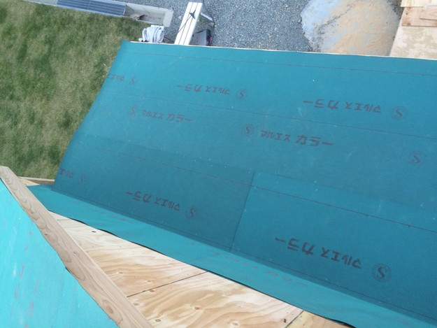 新築カラーベスト屋根工事1430732578471