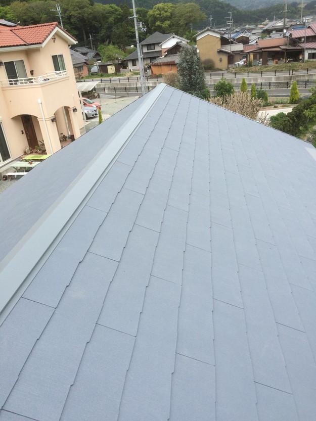 新築カラーベスト屋根工事1430732597428